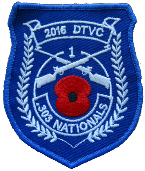 Dick Travis VC .303 Nationals 2015 1st Place