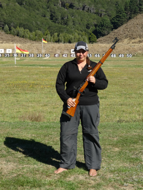 2015 Winner Nicole McKee from Karori Rifle Club