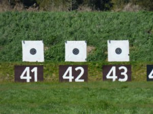 KRC Targets at 300 yards - thanks to our awesome markers