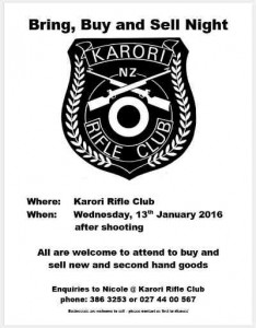Karori Rifle Club Bring Buy & Sell Target Shooting Ballinger Belt New Zealand Champion Shot