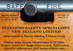 Nicole McKee Firearm Safety Specialists www.fss.nz